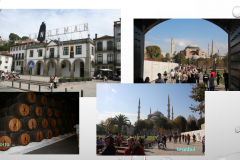 Istanbul und Sandeman in Porto