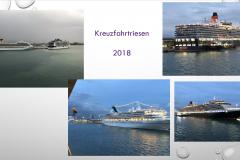 Kreuzfahrt - immer größere Schiffe