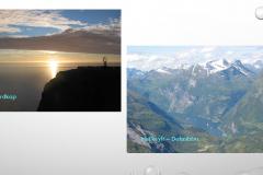 Nordkap und die Fjorde