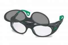 Schweißerbrille - Fenster klappbar